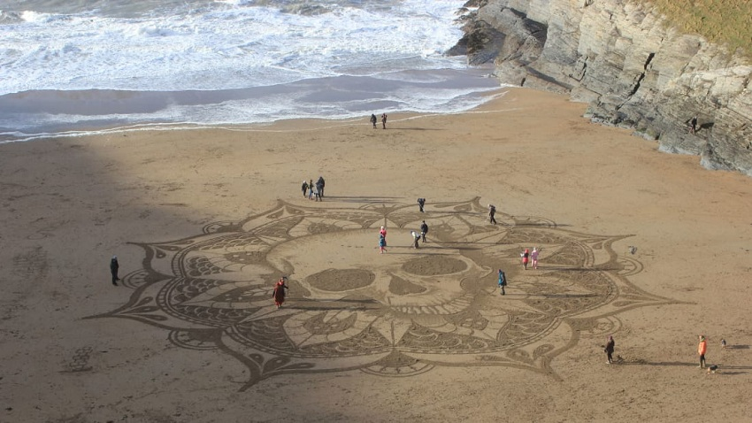Sand Murals