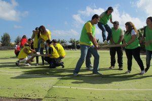 team-building exercises