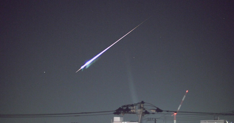 billion-year-old meteor falls