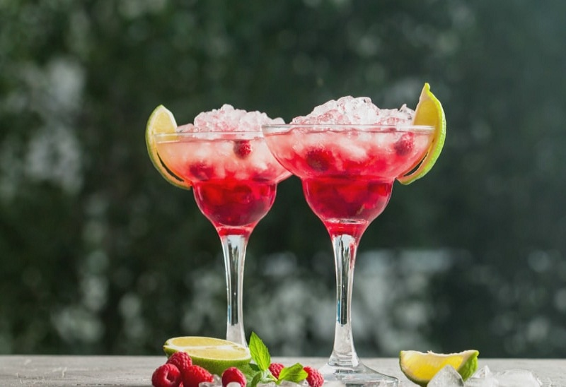 the cocktails with alcohol