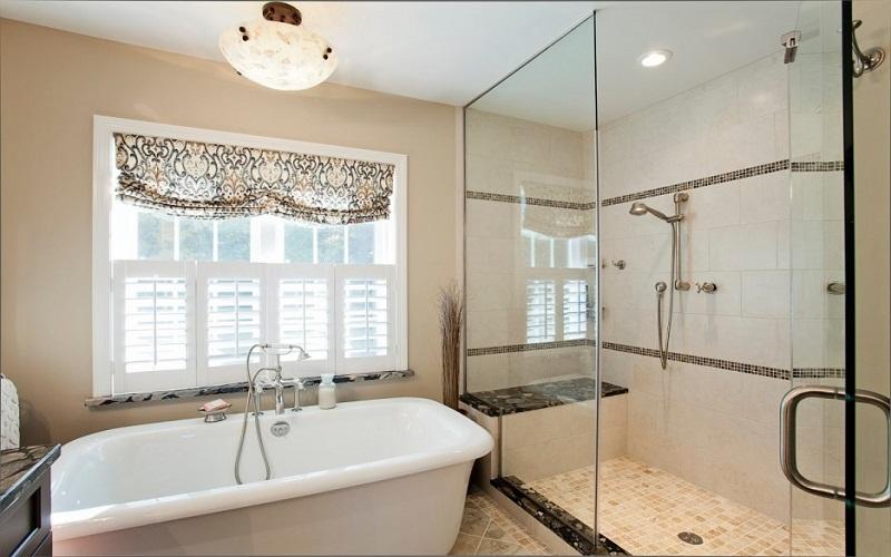 the bathroom impeccable
