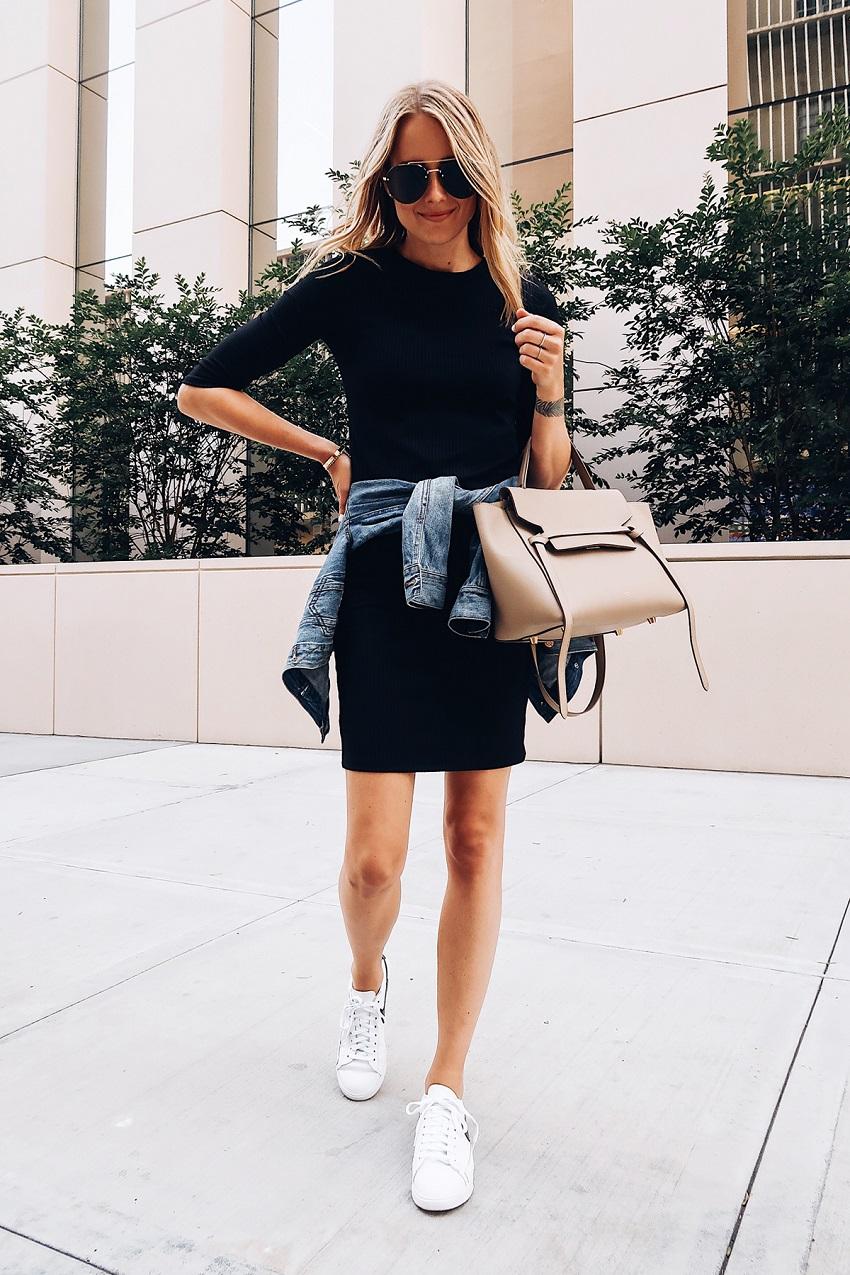10 ways to combine your black dress