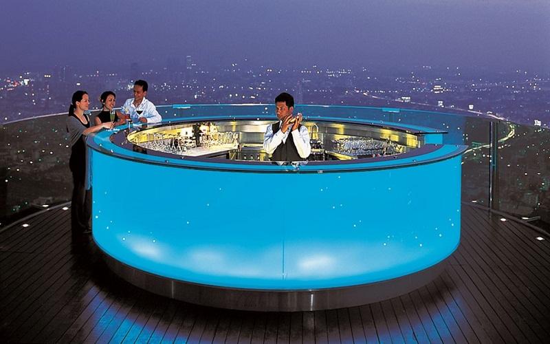 hotel bar in Mexico
