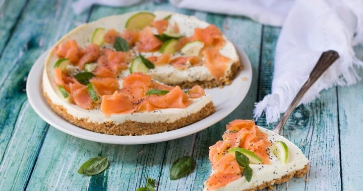 Salmon cheesecake: the recipe for a tasty variant of the sweet version