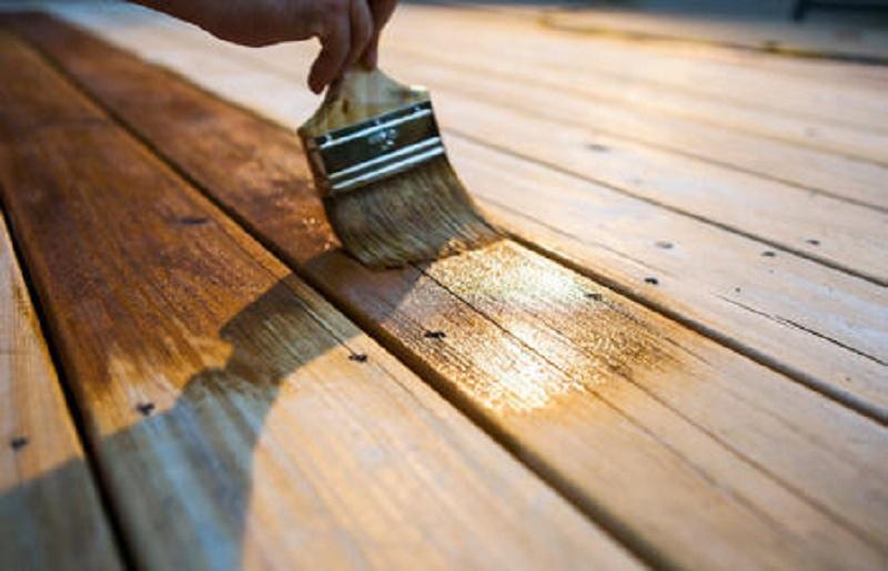 How to paint wooden door