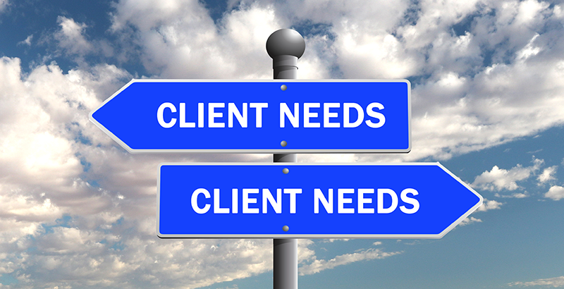needs of the client