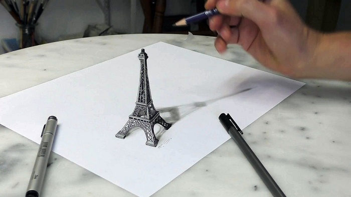 How to draw 3d pictures for beginners
