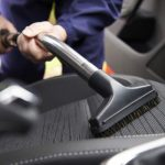 What is the best way to clean car upholstery?