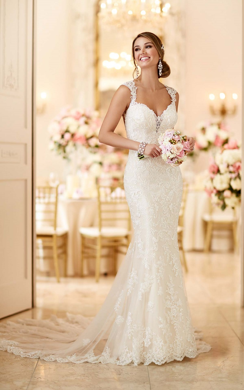 20 wedding dresses with a touch of color for the most glamorous