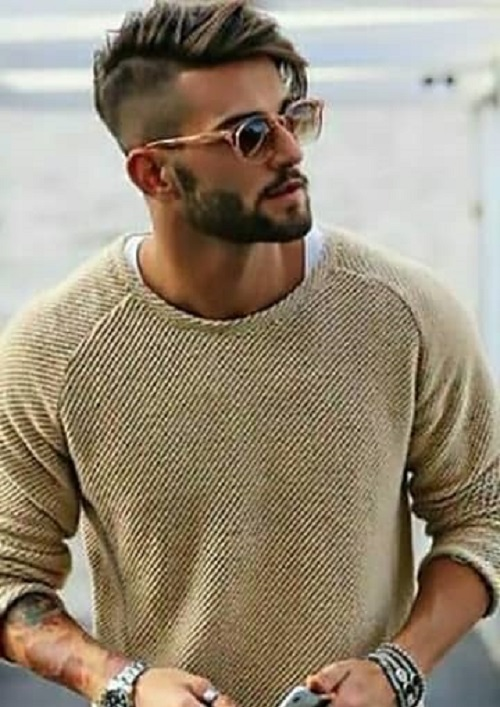 elegant mens stylish hair