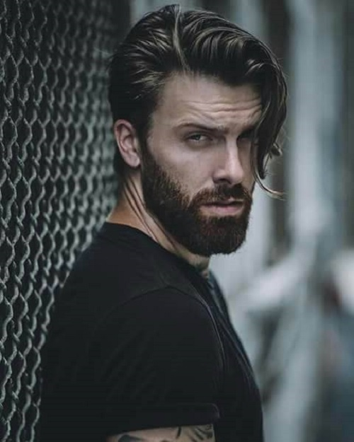 mens elegant stylish hair ideas