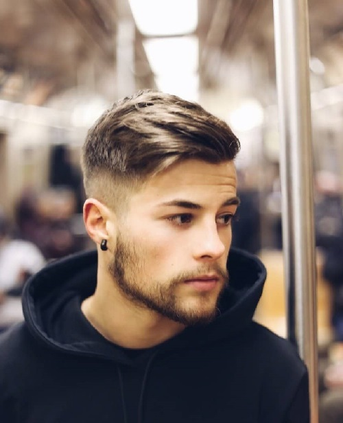 elegant mens stylish hair ideas