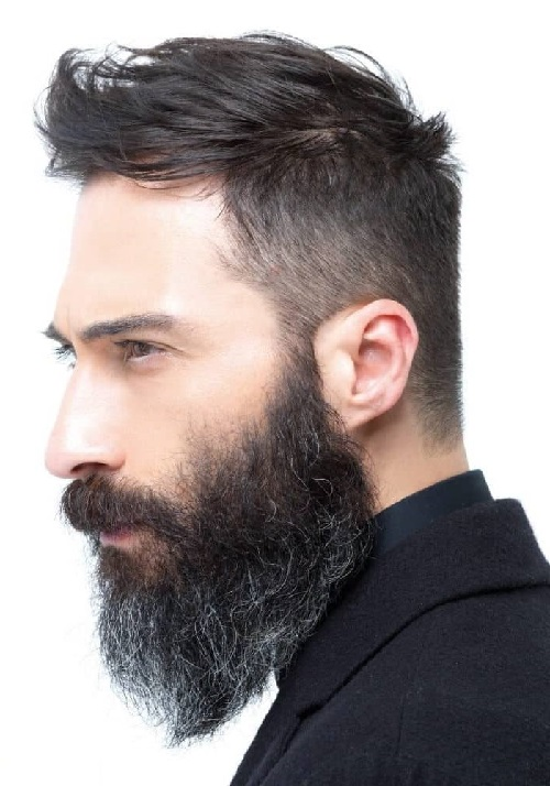 elegant mens stylish hair