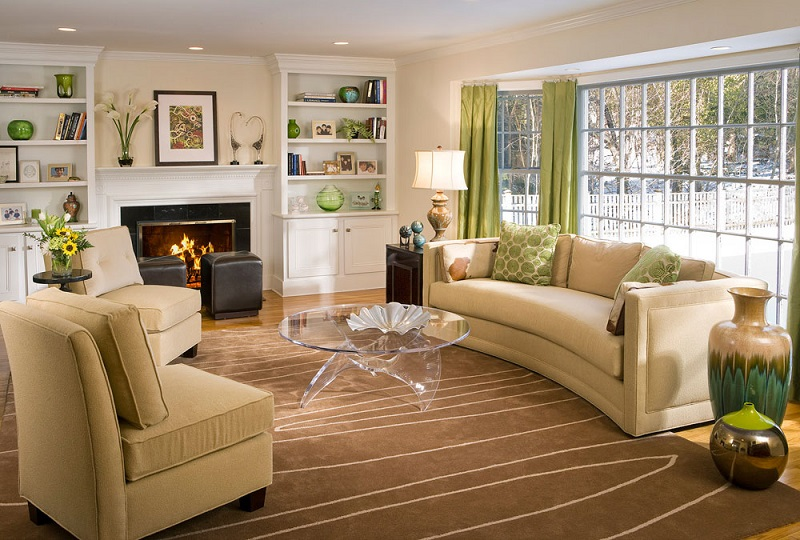 colonial style decor