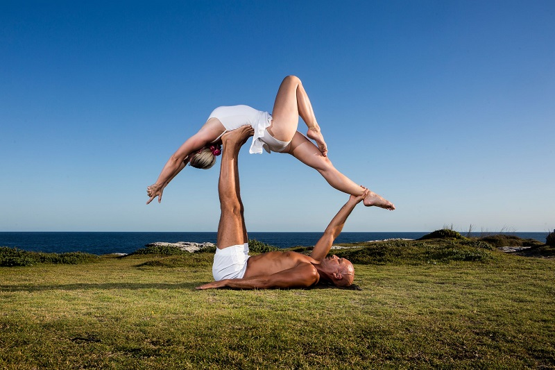 Acro yoga poses for beginners