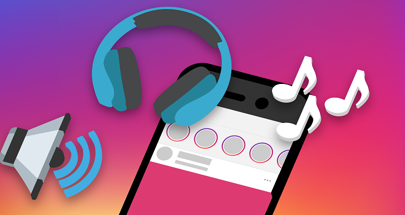 How to put music on Instagram story