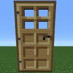 How to make a door in Minecraft