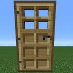 How to make a door in Minecraft