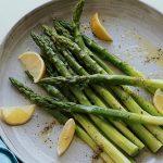 steam asparagus