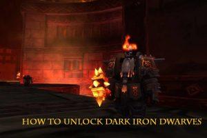 how to unlock dark iron dwarves