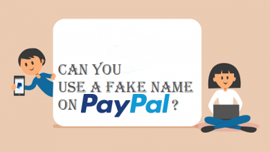 Can you use a fake name on PayPal